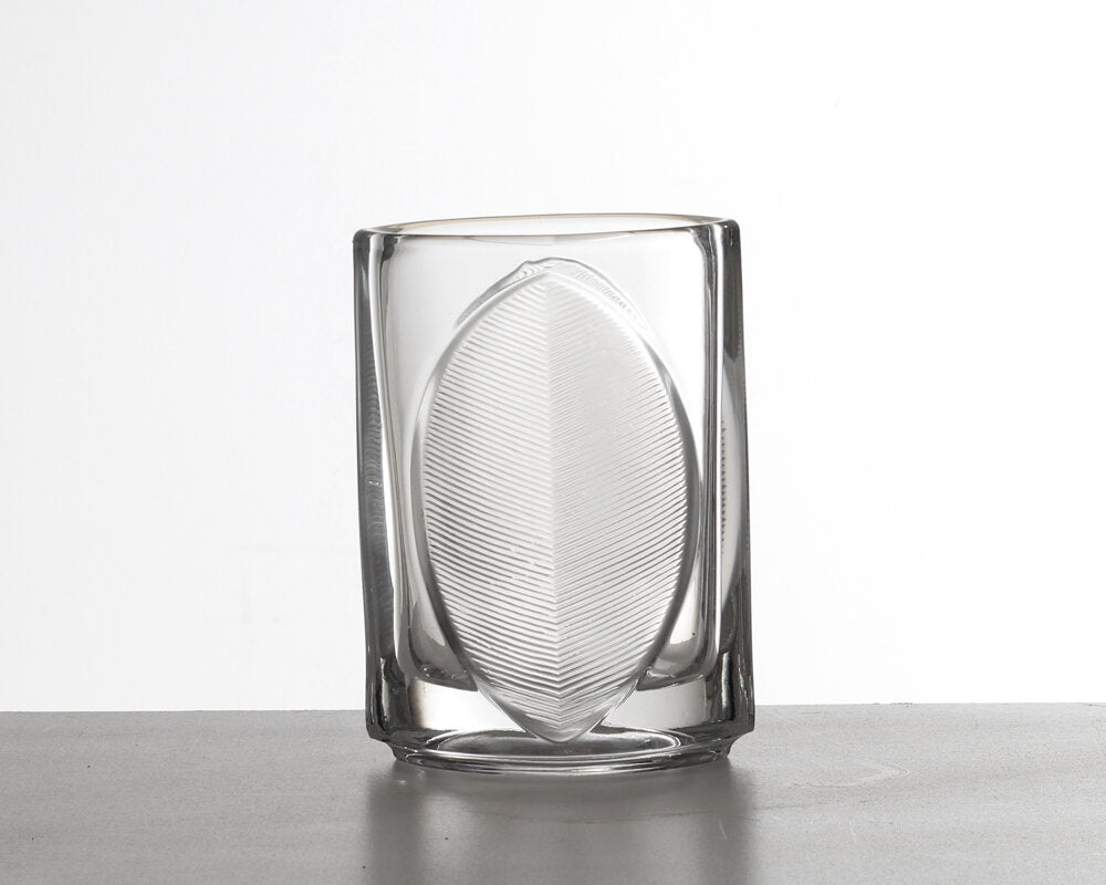 Glass Vase Small - Czech - Rudolf Jurniki 1970