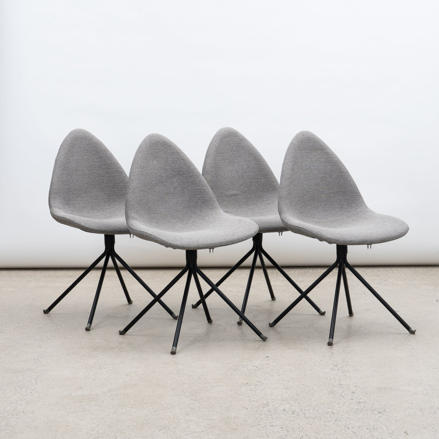 Set of 4 Contemporary Dining Chairs