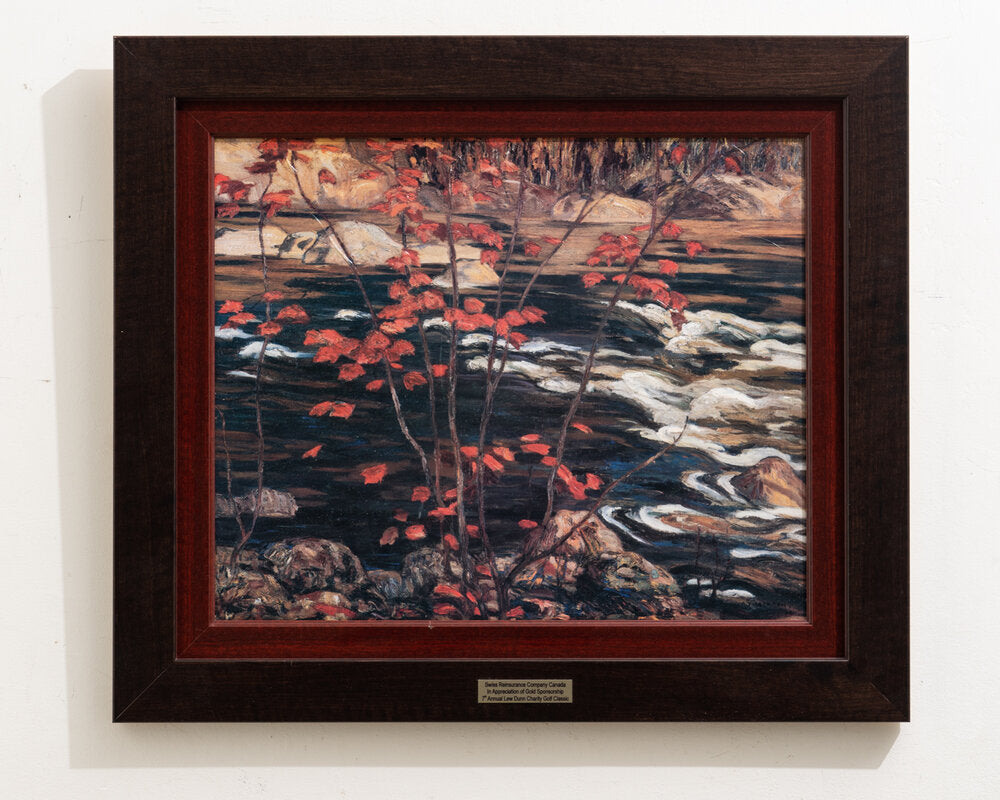 'The Red Maple' Print by A.Y. Jackson