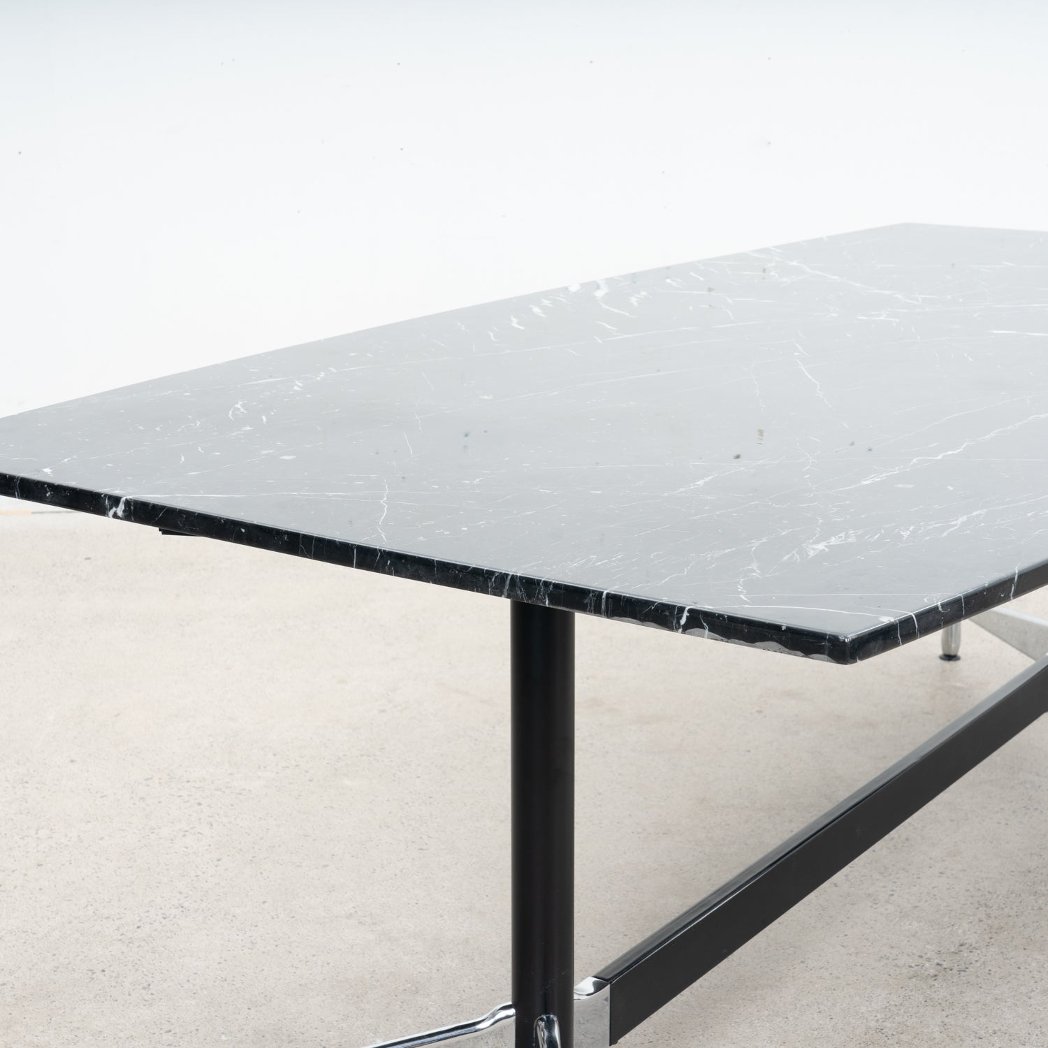 Marble Dining Table on Eames Base