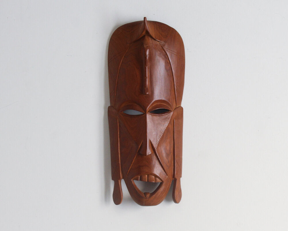 Hand Carved Wooden Mask