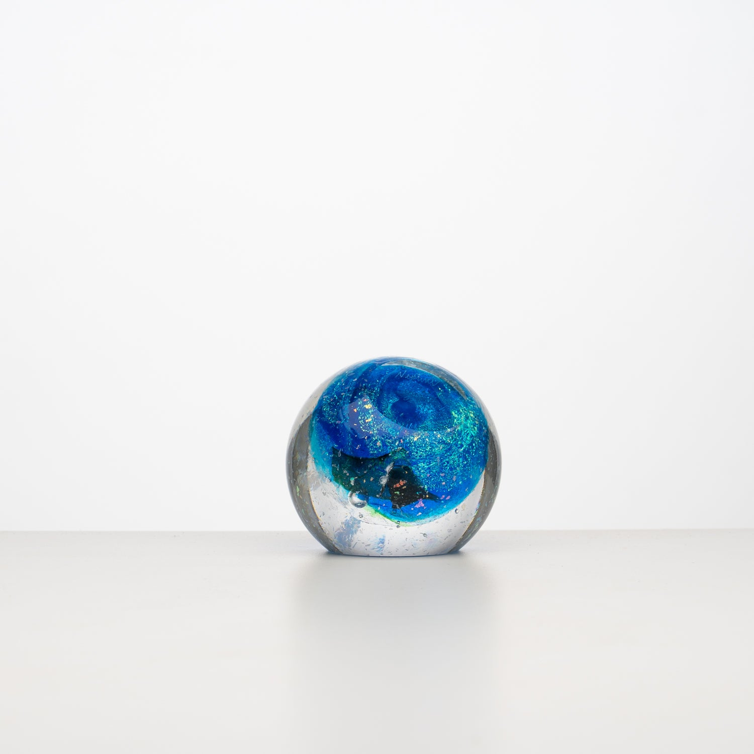 'Neptune' Glass Paperweight
