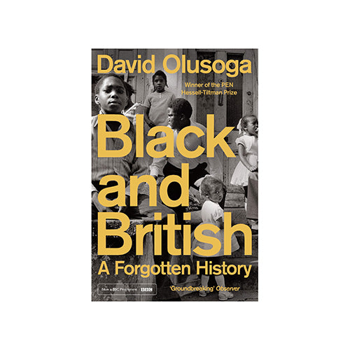 Image of Black and British: A Forgotten History by David Olusoga
