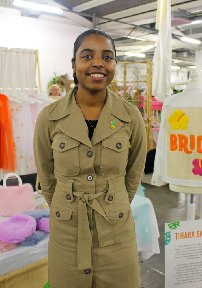 A picture of Tihara Smith at the Most Curious Wedding Fair 2020
