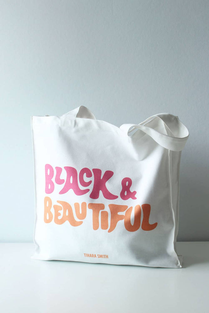 Tote Bag - Black and Beautiful - TiharaSmith