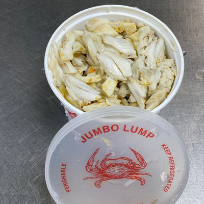 Domestic Jumbo Lump Crab Meat
