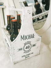 Load image into Gallery viewer, Personalised 6 beer bottle carier