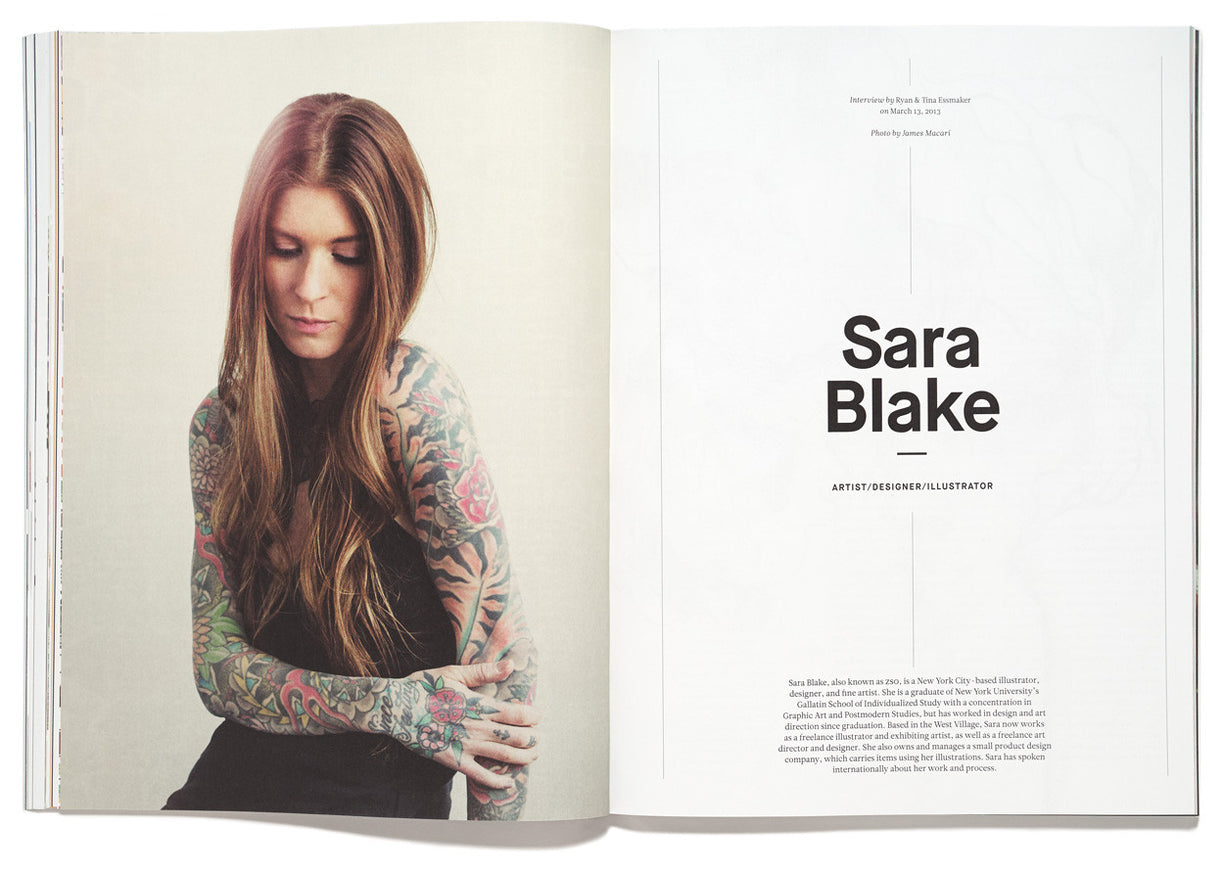 The Great Discontent, Issue 1: Sara Blake (Zso)