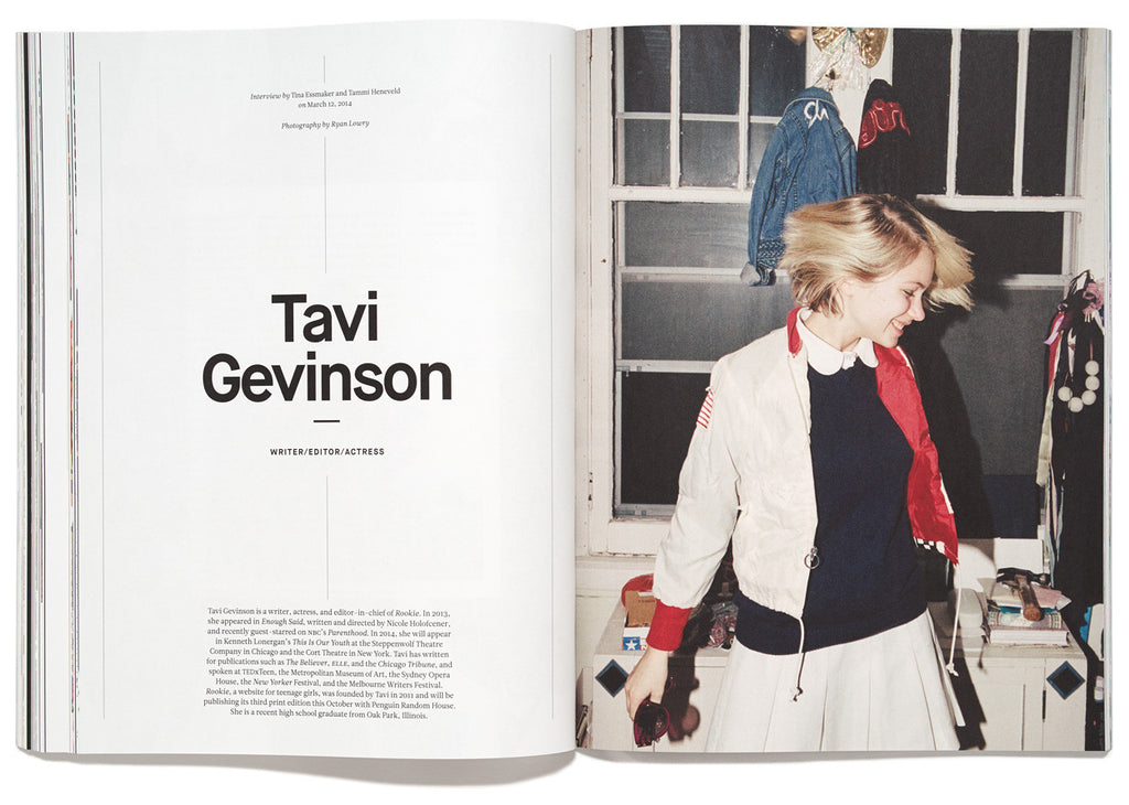 The Great Discontent, Issue 1: Tavi Gevinson