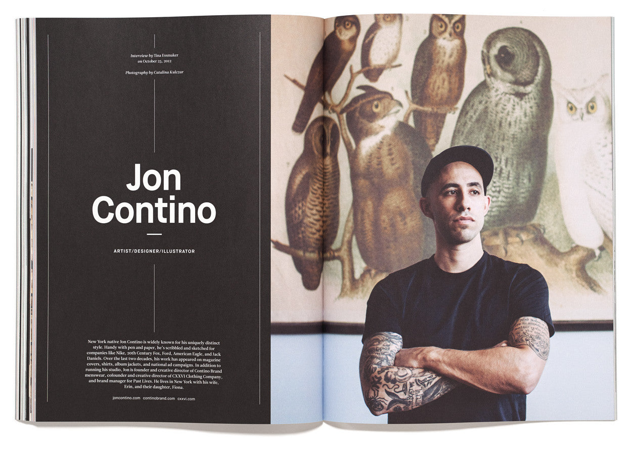 The Great Discontent, Issue 2: Jon Contino