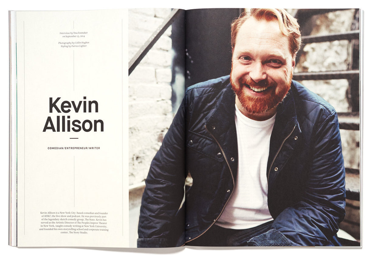 The Great Discontent, Issue 2: Kevin Allison