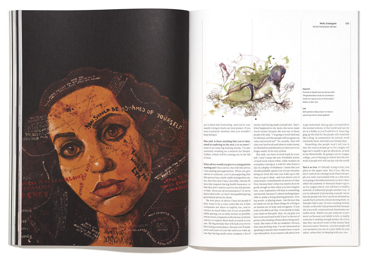 The Great Discontent, Issue 2: Molly Crabapple