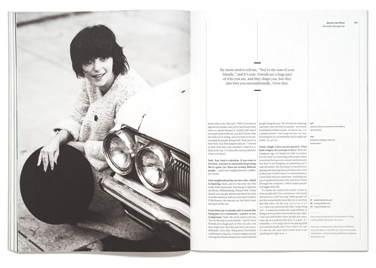 The Great Discontent, Issue 2: Sharon Van Etten