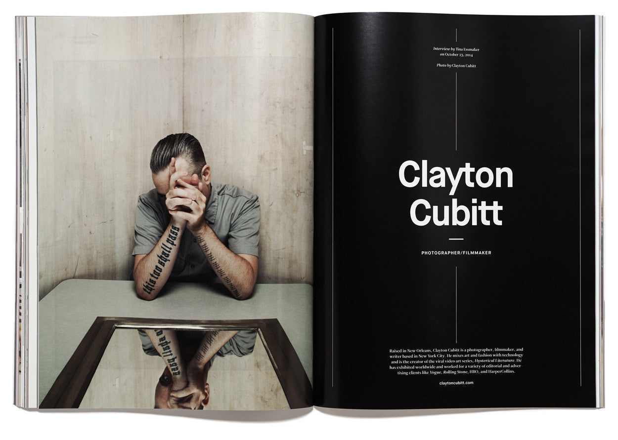 The Great Discontent, Issue 3: Clayton Cubitt