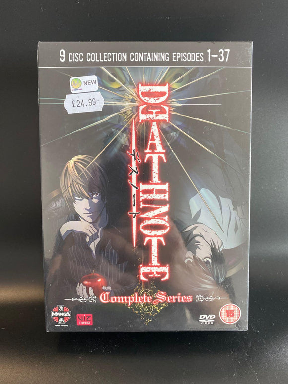 Death Note: The Complete Series NEW & SEALED DVD