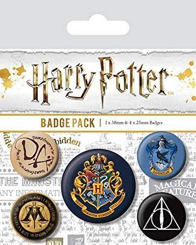 Harry Potter Hogwarts Badge