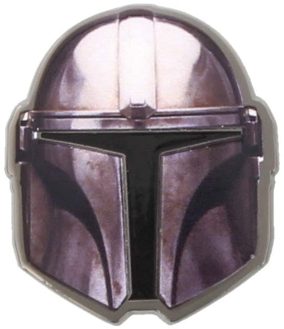 Star Wars The Mandalorian Enamel Pin Badge Purple
