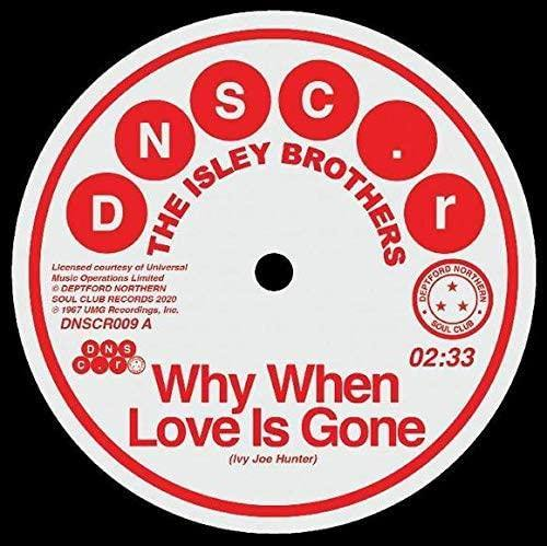 The Isley Brothers & Brenda Holloway: Why When Love Is Gone/Can't Hold The Feeling Back [7