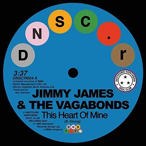 Jimmy James & The Vagabonds & Sonya Spence: This Heart Of Mine/Let Love Flow On [7
