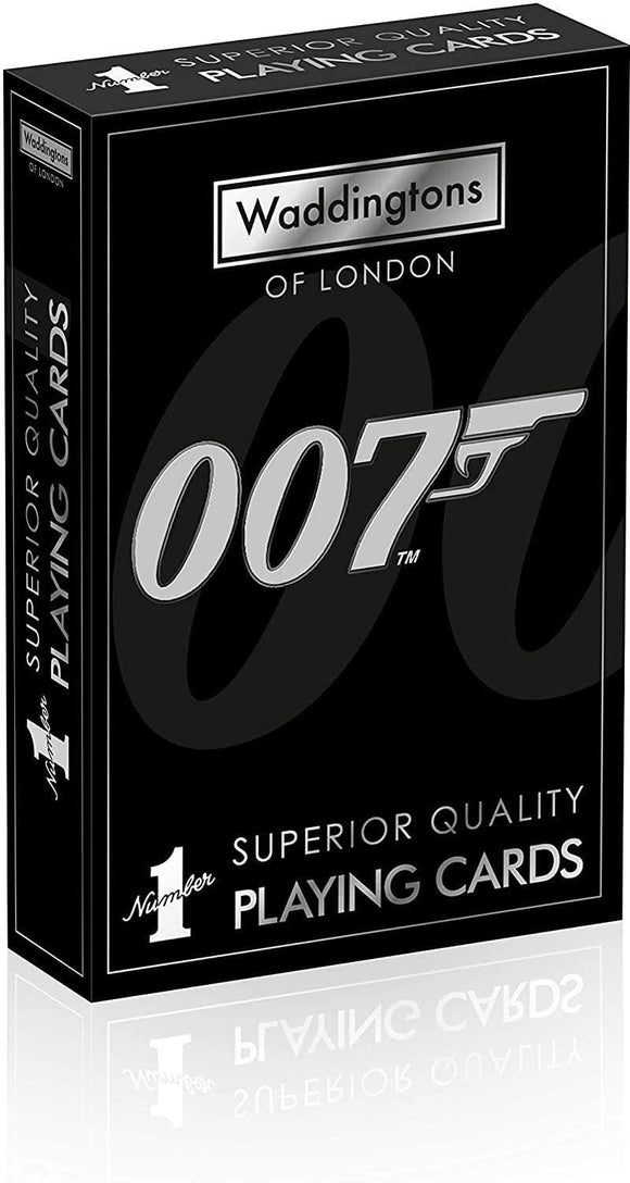 James Bond 007 Waddingtons Number Playing Cards