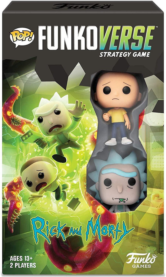 Funko 42634 Rick and Morty 100 Funkoverse Extension (2 Character Pack) English Board Game