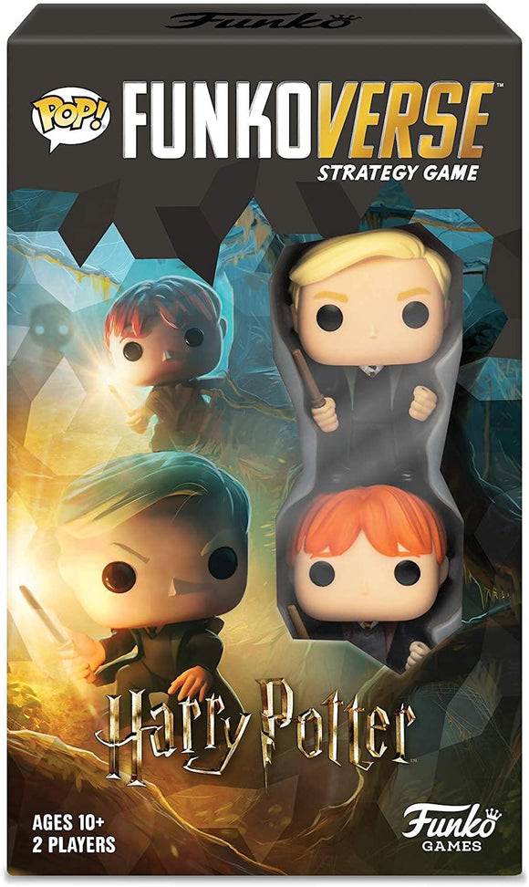 Funko 42644 Harry Potter 101 Funkoverse Extension (2 Character Pack) English Board Game