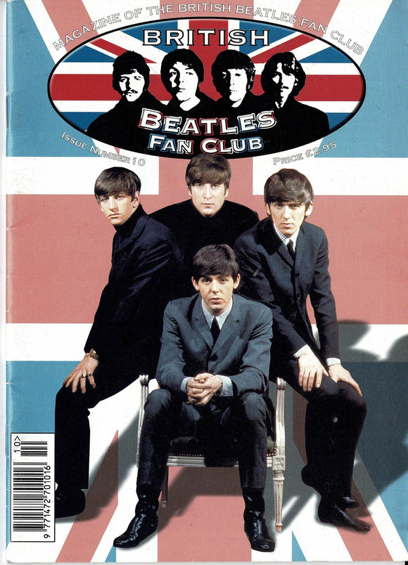 British Beatles Fan Club Magazine - Issue Number 10