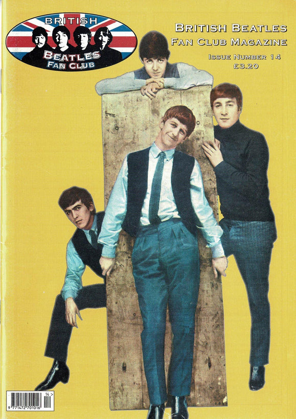 British Beatles Fan Club Magazine - Issue Number 14