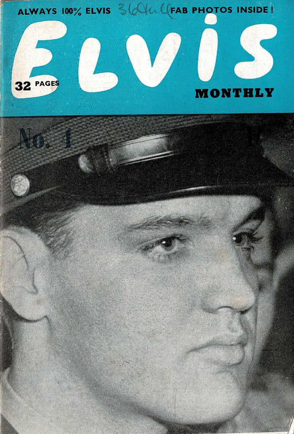Elvis Monthly Fan Magazine: Third Series - April - Issue 4