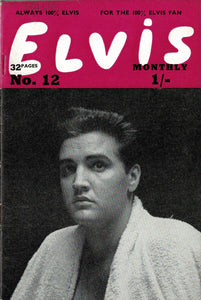 Elvis Monthly Fan Magazine: Third Series - December - Issue 12