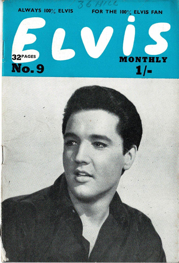 Elvis Monthly Fan Magazine: Fourth Series - September - Issue 9