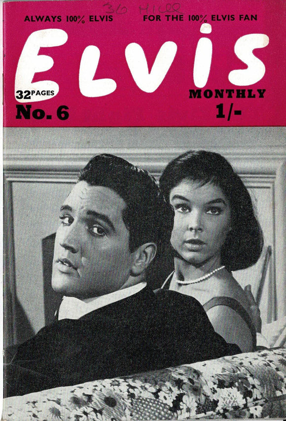 Elvis Monthly Fan Magazine: Fourth Series - June - Issue 6
