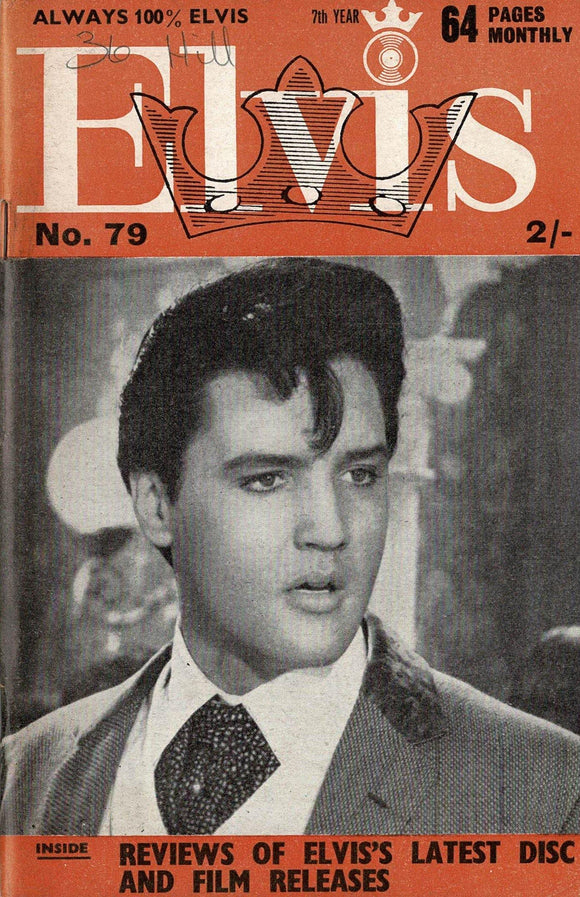 Elvis Monthly Fan Magazine: Seventh Year - August 1966 - Issue 79