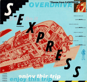 S-Express: Theme From S-Express PREOWNED LP VG/VG