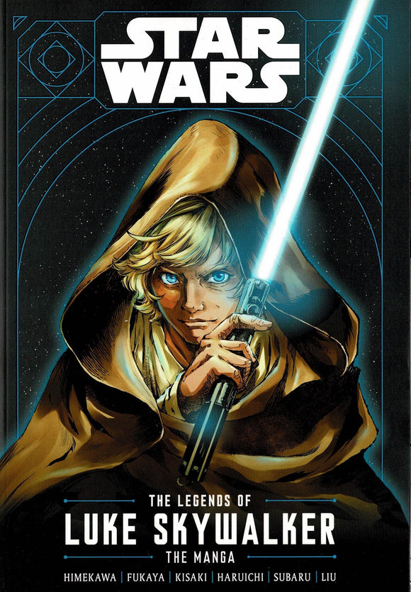 STAR WARS LEGENDS OF LUKE SKYWALKER GN MANGA