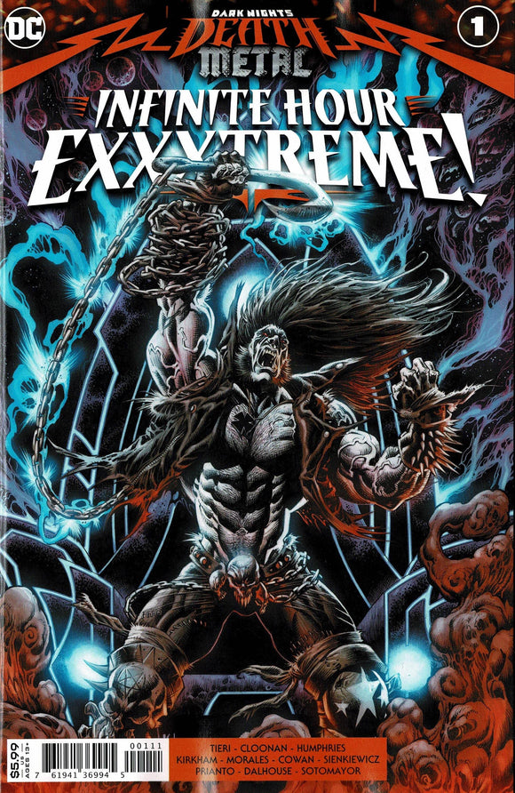 DARK NIGHTS DEATH METAL INFINITE HOURS EXXXTREME #1