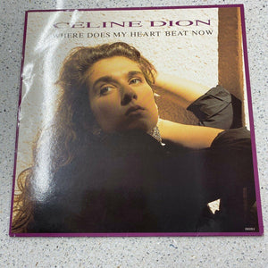 "Céline Dion - Where Does My Heart Beat Now (12"", Single)"