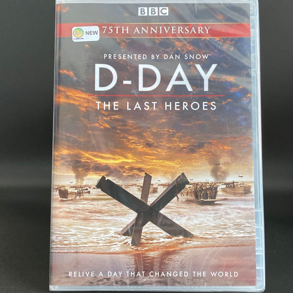 D Day: The Last Heroes (BBC) NEW & SEALED DVD