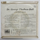 "Dr. George Thalben-Ball - At The Temple Church (7"" EP) VG/G"