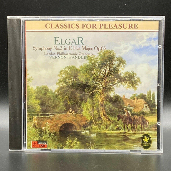Elgar: Symphony No. 2 (CD, Aug-1988, EMI Classics)