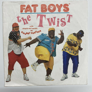 "Fat Boys With Stupid Def Vocals By Chubby Checker - The Twist (7"", Single) M-/VG"