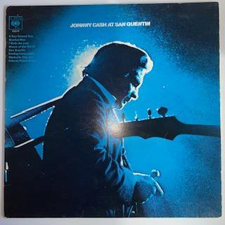 Johnny Cash: At San Quentin VG+/VG