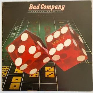 Bad Company: Straight Shooter VG+/VG+