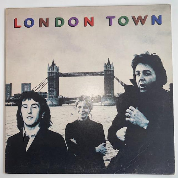 Wings: London Town VG+/VG+