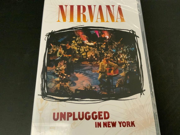 Nirvana Unplugged in New York NEW DVD