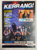 KERRANG No 319  ANTHRAX,CARCASS,TESLA ETC
