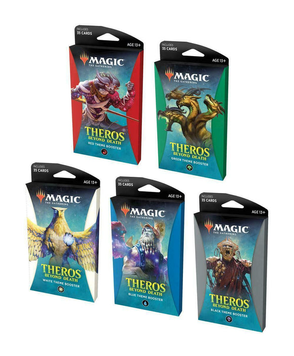 Magic The Gathering Theros Beyond Death Theme Booster Pack