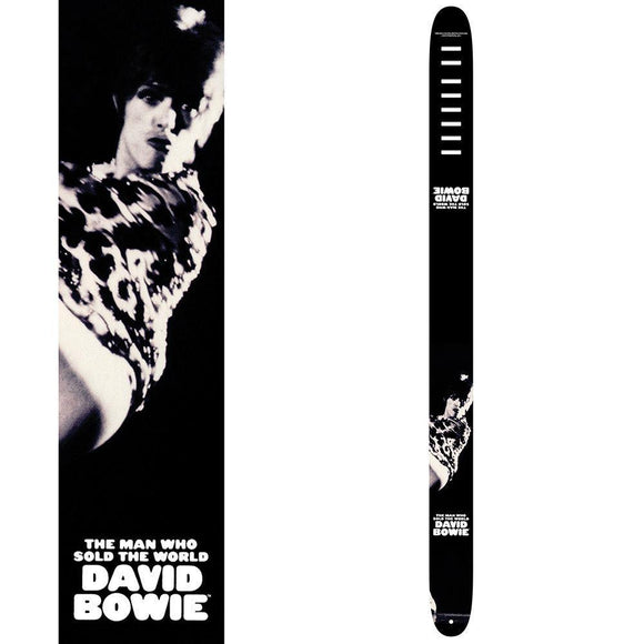 Perri's Leather Guitar Strap ~ David Bowie ~ The Man Who Sold The World