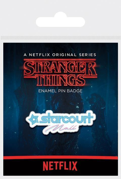 STRANGER THINGS (STARCOURT MALL) ENAMEL PIN BADGE