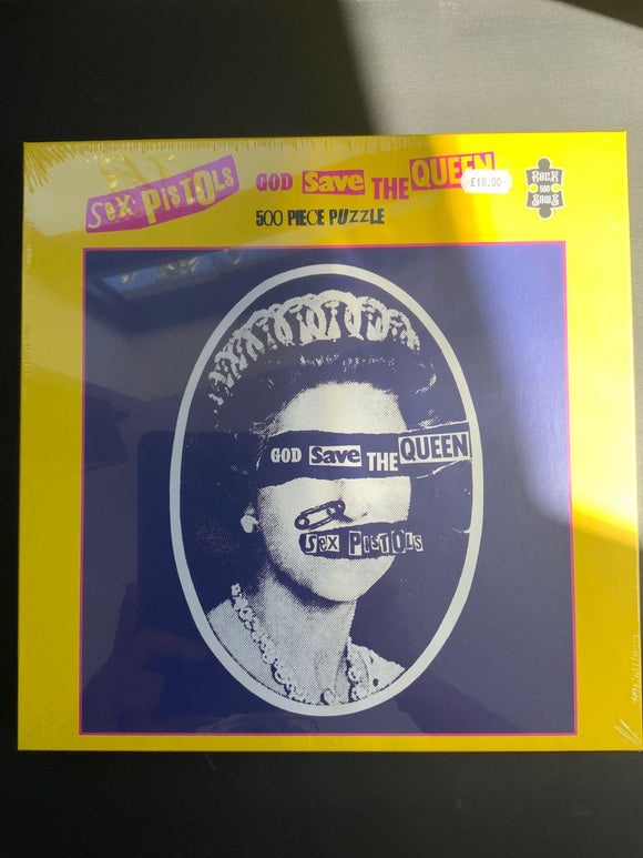 Sex Pistols God Save The Queen Jigsaw